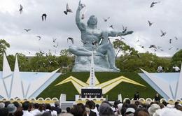 Nhật Bản kỷ niệm 69 năm vụ ném bom nguyên tử xuống Nagasaki