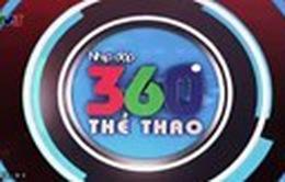 Nhịp đập 360 độ Thể thao ngày 13/8/2014
