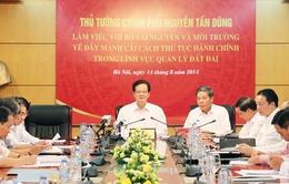 Đẩy mạnh cải cách thủ tục hành chính trong lĩnh vực quản lý đất đai