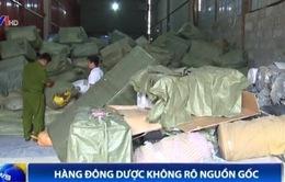Hà Nội thu giữ 60 tấn thuốc đông dược gian lận thương mại