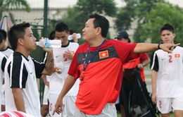 HLV Hoàng Văn Phúc phớt lờ Công Vinh