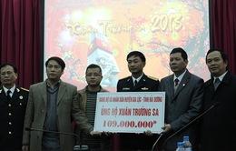Gần 4 tỷ đồng ủng hộ qua Xuân Trường Sa 2013