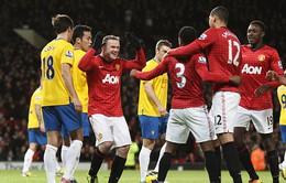Vòng 24 Premier League: Rooney giúp Man Utd bứt phá