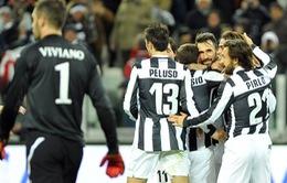Vòng 24 Serie A: Juve trục lợi