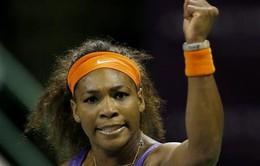 Serena đi vào lịch sử dù thua ở CK Qatar Open