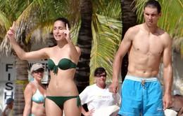 Nadal và bồ khoe thân hình chuẩn ở Mexico