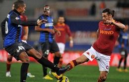 Inter và AS Roma tranh giành cơ hội cuối