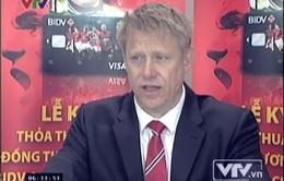 Cuộc trò chuyện Peter Schmeichel dành riêng cho VTV