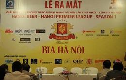 Ra mắt giải Bóng đá phong trào Ngoại hạng Hà Nội