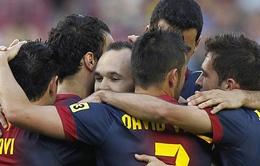 Tito giúp Barca kết thúc La Liga với một kỷ lục
