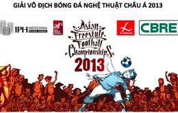 Cháy cùng đam mê với Giải Bóng đá nghệ thuật châu Á