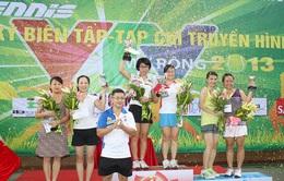 Giải tennis TKBT-TCTH mở rộng 2013 kết thúc tốt đẹp