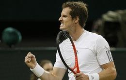 Murray hoàn thiện mảnh ghép chung kết trong mơ