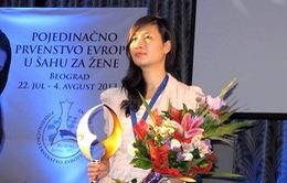 Gặp nữ kỳ thủ gốc Việt vô địch châu Âu