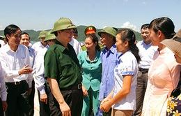 Thủ tướng thị sát khu kinh tế Vân Đồn, Quảng Ninh
