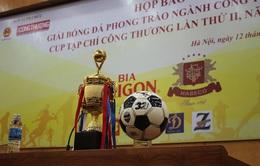 Khởi động giải Bóng đá phong trào ngành Công Thương 2013