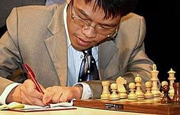 Quang Liêm đánh bại kỳ thủ số 1 nước Nga