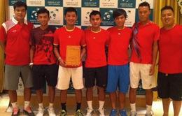 Việt Nam gặp Pakistan tại Davis Cup mùa 2014