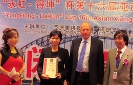 Ngô Lan Hương lần thứ hai vô địch cờ tướng châu Á