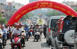 Toàn cảnh ngày thông xe cầu vượt chữ Y vòng xoay Cây Gõ