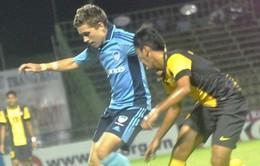 U21 Việt Nam đại bại 0-4 trước U21 Sydney