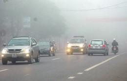 Sương mù xuất hiện dày đặc tại Thành phố Hồ Chí Minh