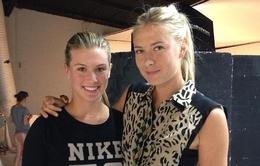 Eugenie Bouchard – sao nữ tài sắc vẹn toàn đọ dáng cùng Sharapova