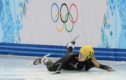 """Những cú """"ngã đẹp"""" ở Olympic Sochi 2014"""