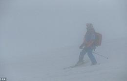 Sương mù phủ kín Olympic Sochi