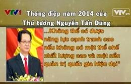 Từ Thông điệp đầu năm của Thủ tướng: Nhiều cơ sở để tin kinh tế Việt Nam 2014 sẽ khởi sắc