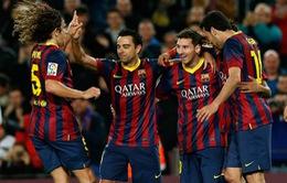 Messi ghi bàn, Barca thu hẹp khoảng cách với Real