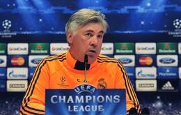 HLV Ancelotti: Real sẽ chơi tấn công trước Dortmund