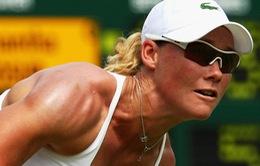 Stosur dừng bước sau vòng 2 WTA Charleston