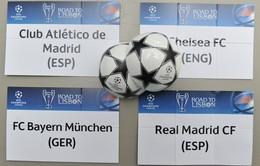Nghi án UEFA dàn xếp kết quả bốc thăm BK Champions League 2013/14