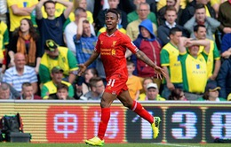 Norwich 2-3 Liverpool: Sterling lại sắm vai người hùng