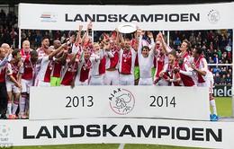 Chức vô địch giải VĐQG Hà Lan và Thổ Nhĩ Kỳ đã có chủ