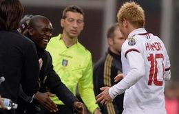 Seedorf hổ thẹn vì được so sánh với HLV Ancelotti