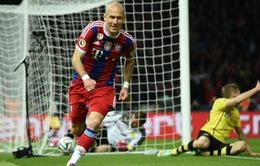 Hạ Dortmund ở hiệp phụ, Bayern lần thứ 17 đăng quang Cúp QG Đức