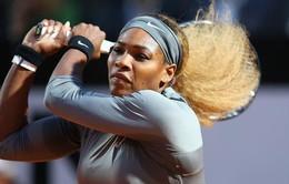 """Rome Masters: Serena quật ngã """"người đẹp"""" giành vé vào chung kết"""
