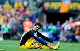 Diego Costa sẽ vắng mặt ở chung kết Champions League
