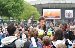 Murray dốc sức tập luyện vì sợ đụng đối thủ mạnh ở Roland Garros