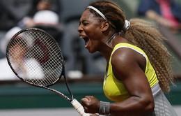 """Serena tiếp tục """"hủy diệt"""" đối thủ ở Roland Garros"""