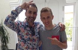 Hoàn tất giấc mơ Decima với Real, Modric xuống tóc ăn mừng
