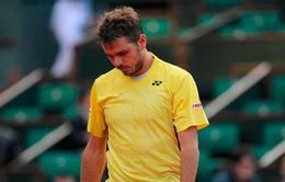 Roland Garros: Nadal thắng dễ, Wawrinka thua sốc ở vòng 1