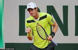 Vào vòng 2 Roland Garros, Murray tôn Mauresmo làm thầy?