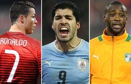 Lộ đội hình trong mơ ở World Cup 2014 chuẩn xác nhất