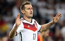 Klose phá tan kỷ lục ghi bàn của huyền thoại Gerd Muller