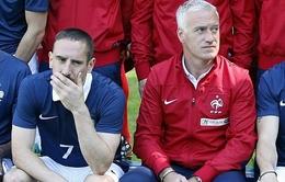 Pháp chính thức mất Ribery tại World Cup 2014