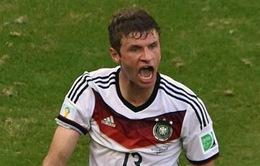 Muller lập cú hat-trick đầu tiên ở World Cup 2014