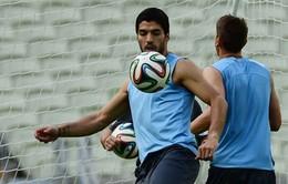 World Cup, bảng D, Anh – Uruguay: Thua và chấm hết! (2h00, 20/6, VTV3)